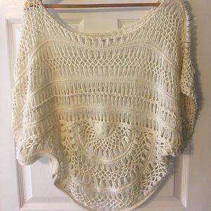 Zara Knit Cream Sweater